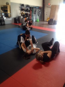 Krav Maga Self Defense.. Teaching how to escape attacker situations