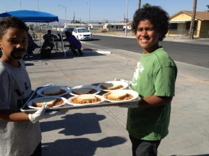 Feeding the Homeless at the Dream Center