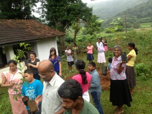 VYA was honored to be included in this tree planting ceremony which will eventually grow to feed many children.