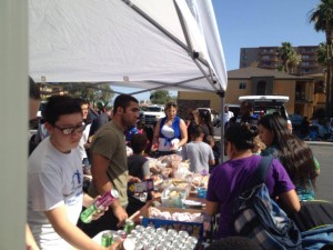 With Nevada Partnership for Homeless Youth handing out Food, Hygiene and clothing to over 100 inner-city/Homeless youth